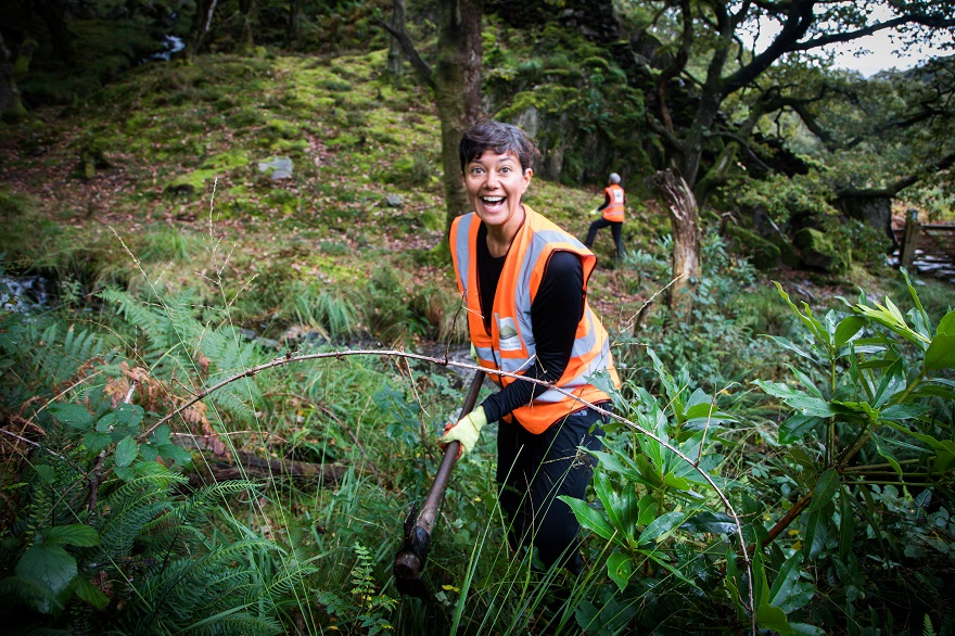 Snowdonia Society volunteer