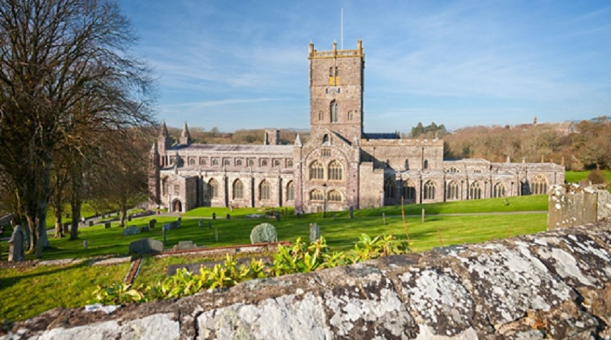 St David's Cathedral © Crown Copyright Visit Wales