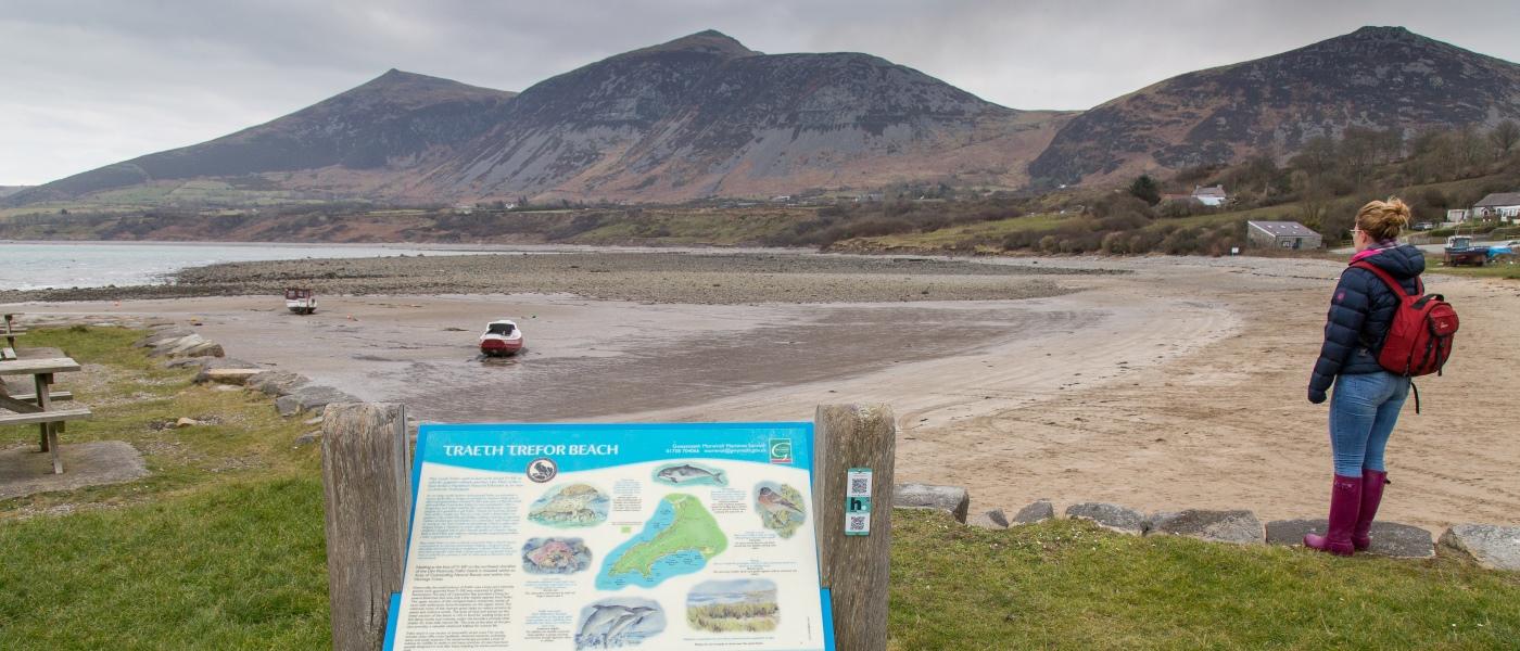 Trefor Beach Visit Snowdonia