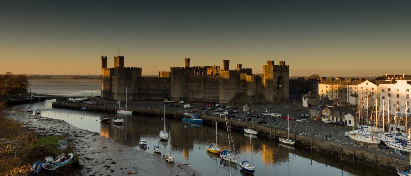 Castell Caernarfon Castle