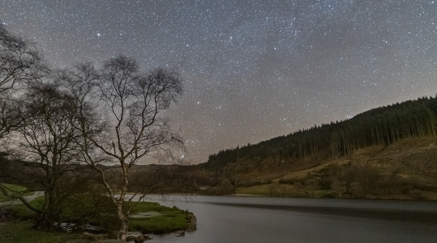 Dark Sky Reserve Status for Snowdonia - The sky at night